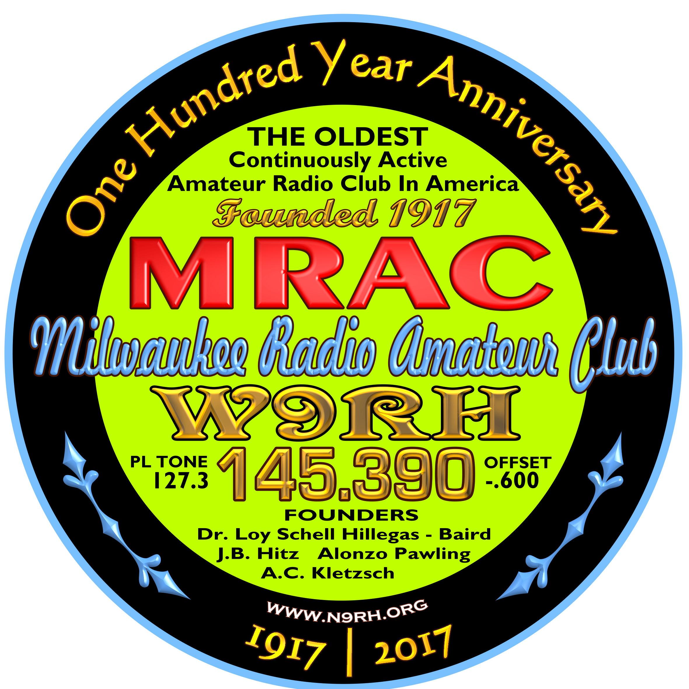 Milwaukee Radio Amateurs Club Inc W9RH One of